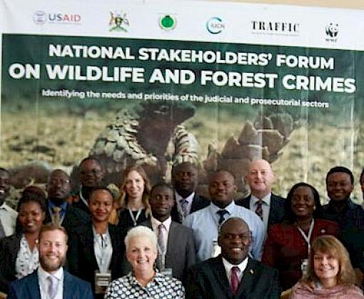 Uganda Legal Authorities Collaborate to Strengthen Efforts Against Illegal Wildlife Trade