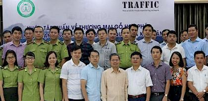 TRAFFIC trains Vietnamese enforcement officers on timber laws