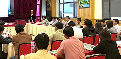 Enforcement officers equipped to combat illegal timber trade in Viet Nam