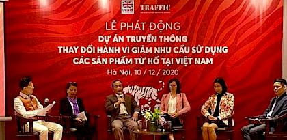 TRAFFIC initiative to drive down tiger product consumption in Viet Nam