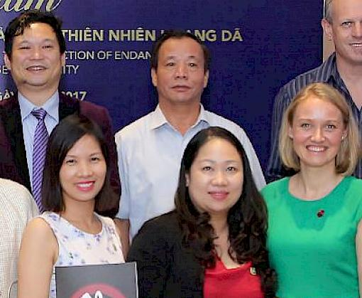 "Vietnamese media encouraged to become ""agents of change"" in efforts to deter wildlife crime"