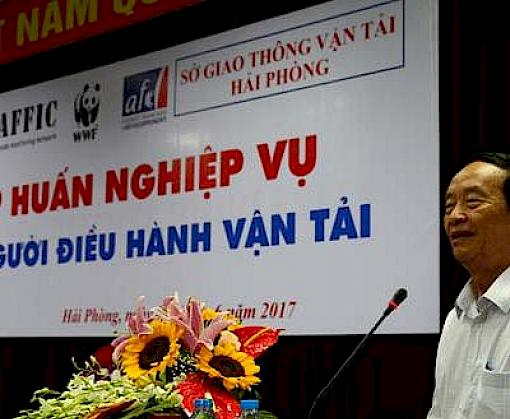 "Viet Nam's transport sector adopts a zero tolerance to wildlife crime in ""hotspot"" area"