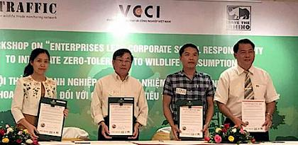 More champions combating Illegal Wildlife Trafficking