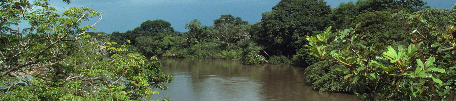 Garamba National Park - The Dungu River which weaves its way along the southern boundary © Sandra Mbanefo Obiago / WWF