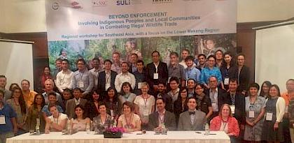 "Regional workshop on moving ""Beyond Enforcement"" in combating Illegal Wildlife Trade in Southeast Asia"