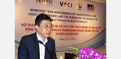 Creating zero-tolerance of illegal wildlife trade in Viet Nam's transport and logistics sector