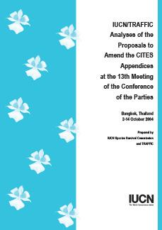 analyses of proposals to amend the CITES appendices
