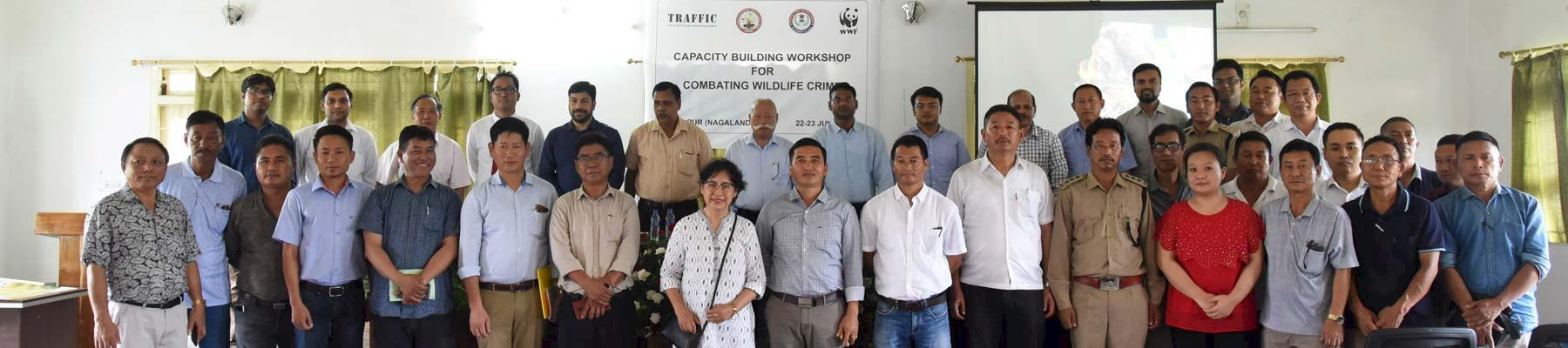 Workshop participants in Nagaland © TRAFFIC